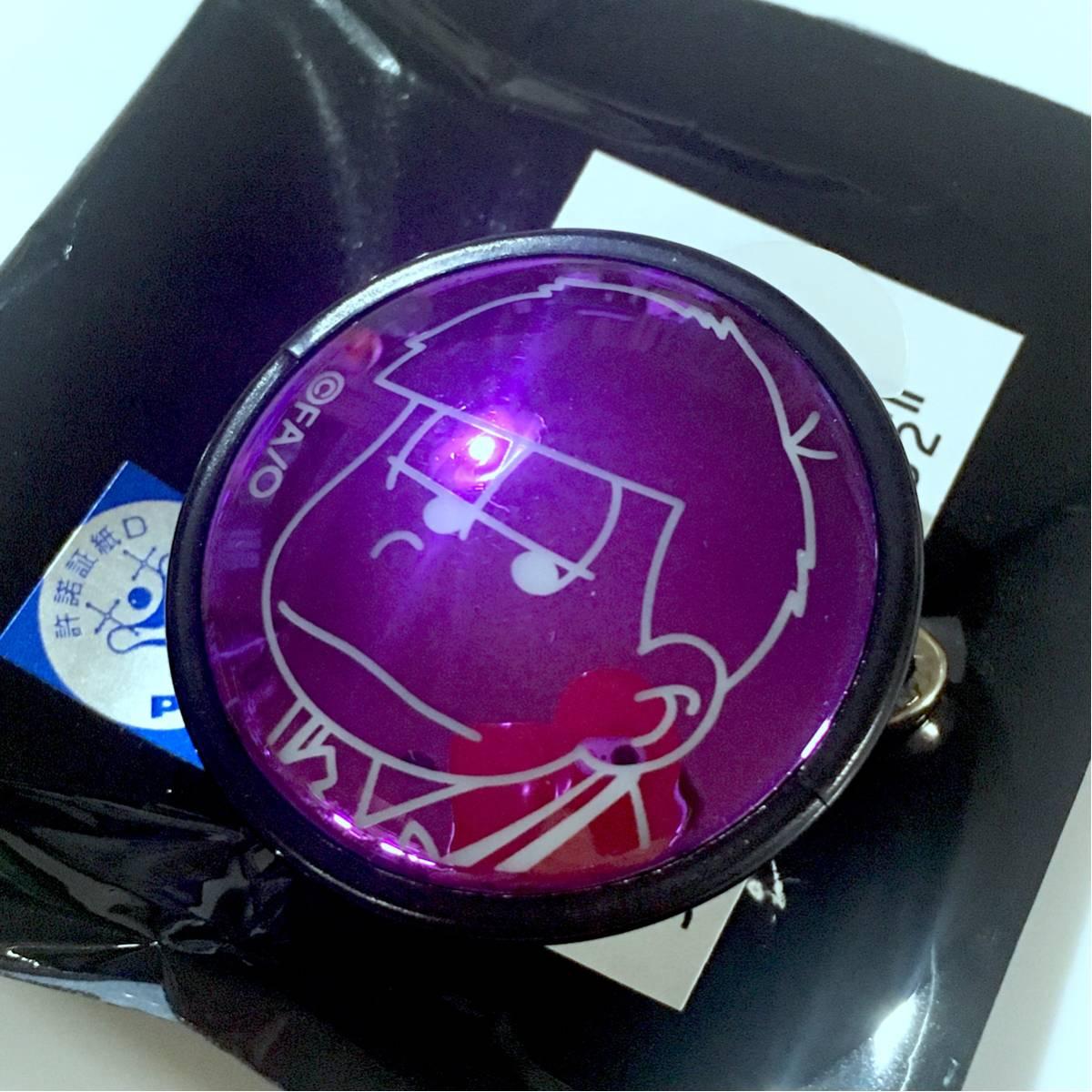 おそ松さん HMV限定 バッジライトコレクション 一松 ライトバッジコレクション グッズの画像