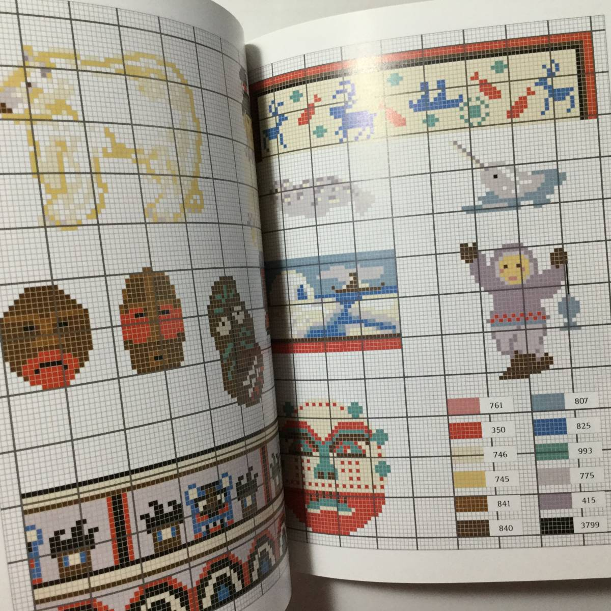 ■ARTBOOK_OUTLET■ 1-059 ★ 手芸本 新品 フランス 刺繍 クロスステッチ CROSS STITCH 図案 SPECIAL EDITION AROUND THE WORLD 希少本_画像2
