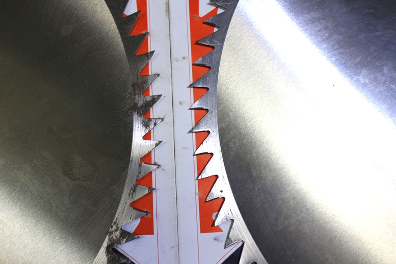 JN56◆津村◆305mm刈払機用丸のこ刃/3枚セット/刈り払い機用マルノコ刃_画像6