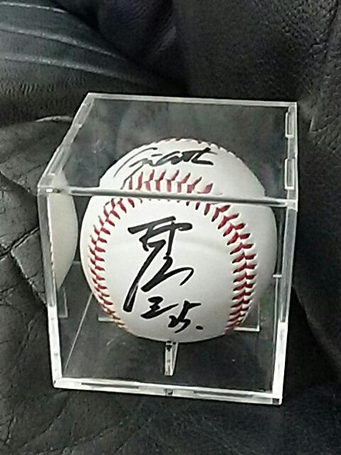 読売ジャイアンツ巨人   村田修一  直筆サイン入りボール グッズの画像