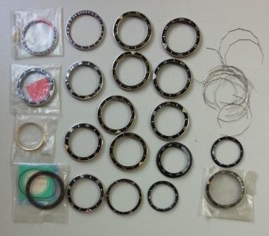 SEIKO セイコー等 ベゼル他時計部品多数 ジャンク品