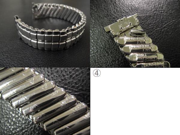 デッドストック ビンテージ USA製 1960's JB CHAMPION チャンピオン エクスパンション 腕時計用 ベルト ブレス バンド 15.4mm~19.0mm_画像3