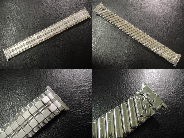 デッドストック ビンテージ USA製 1960's JB CHAMPION チャンピオン エクスパンション 腕時計用 ベルト ブレス バンド 15.4mm~19.0mm_画像2