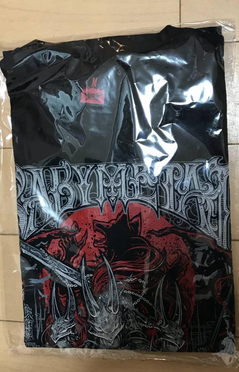 BABYMETAL さいたまスーパーアリーナ巨大キツネ祭り Tシャツ 「METAL WALKURE」TEE Mサイズ 新品未開封 ライブグッズの画像