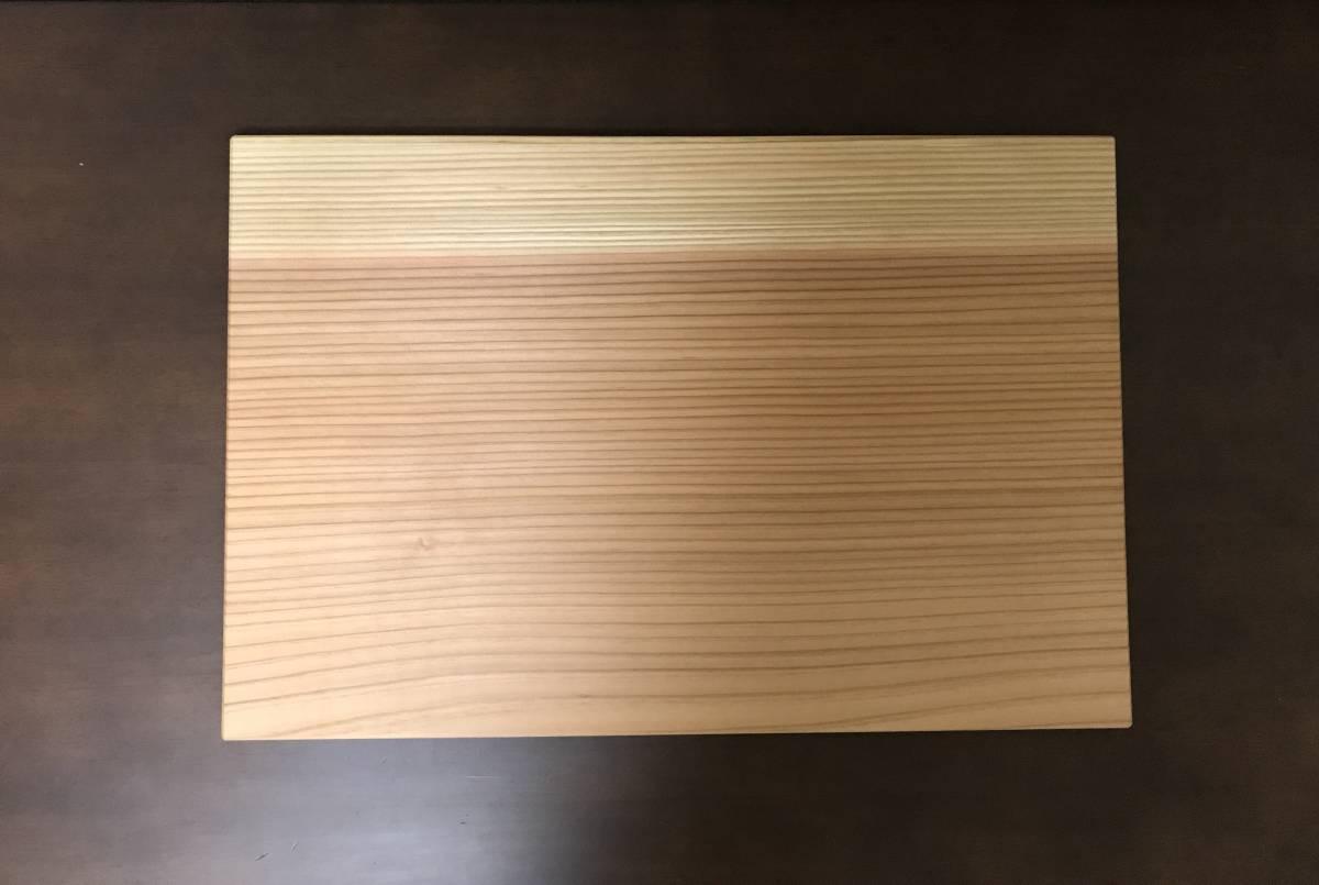 天然木 杉の柾目のランチョンマット お盆 トレー_画像2