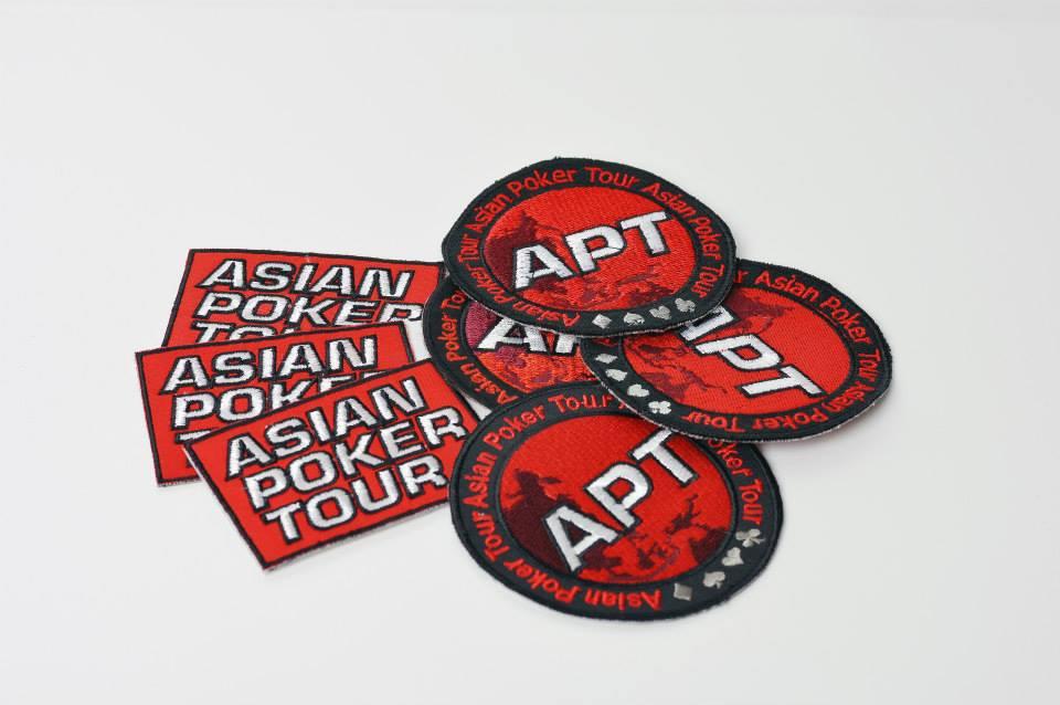 ☆Asian Poker Tour公認のワッペン(長方形)☆_画像1