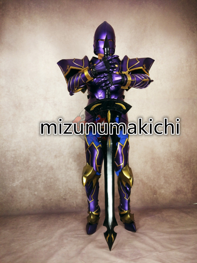 Fate/Zero ランスロットコスプレ道具Fate/Grand Order 全身鎧+武器_画像1