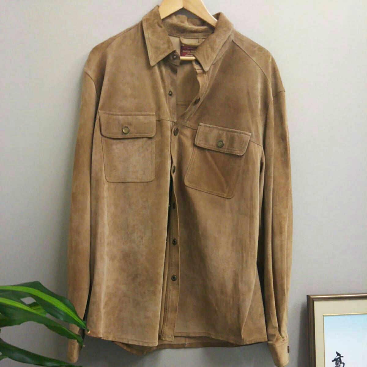 高倉健さん「ホタル」やCMで着用していた。SEATTLE SUEDE エディバアウアーのスエードジャケットです。勿論特注品です。