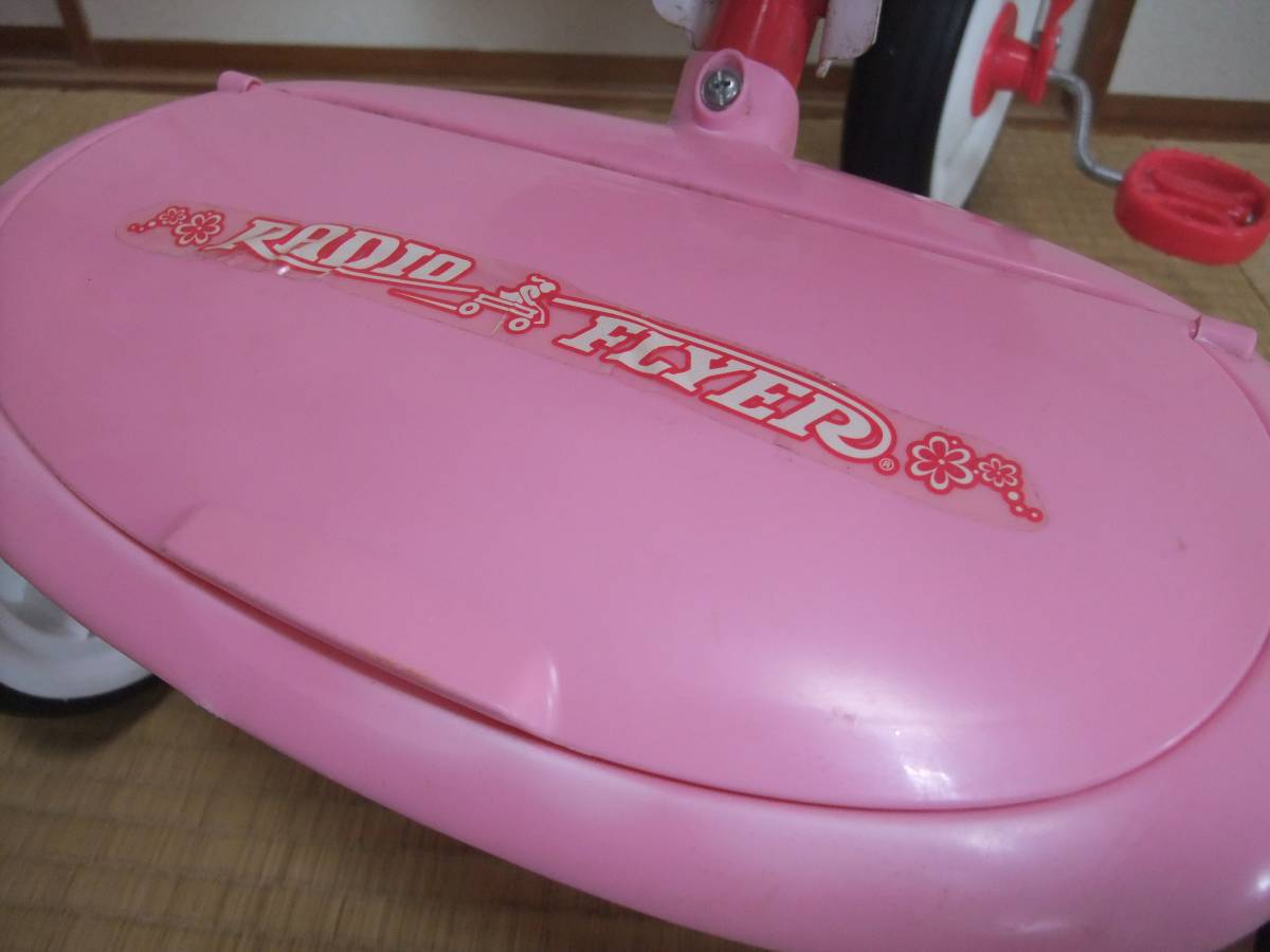 Radio Flyer PINK TRIKEラジオフライヤー 折りたたみ ピンク 三輪車 【1647】_画像2