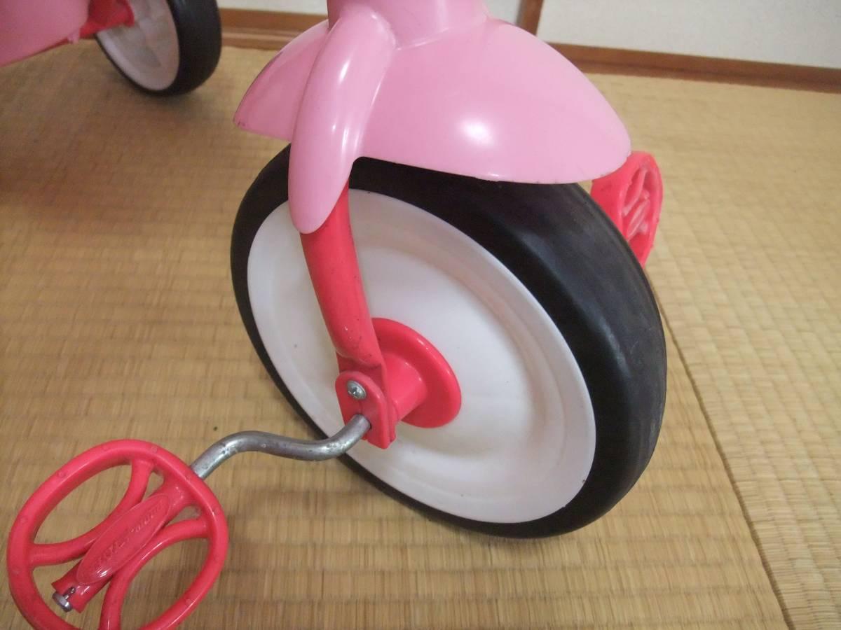 Radio Flyer PINK TRIKEラジオフライヤー 折りたたみ ピンク 三輪車 【1647】_画像7