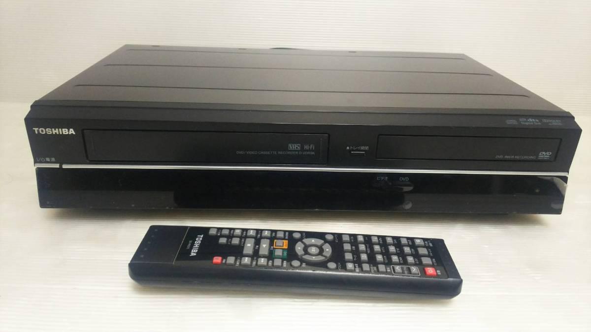 [89] TOSHIBA 東芝 VTR一体型DVDレコーダー D-VDR9K