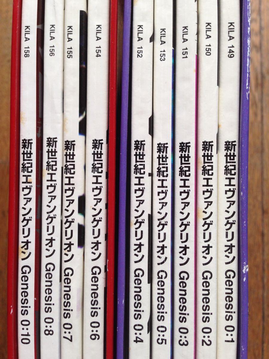 Neon Genesis Evangelion set laser disc