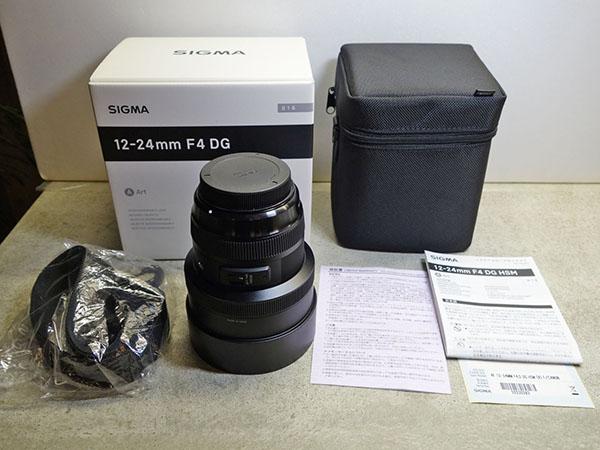 シグマ SIGMA Art 12-24mm F4 DG HSM キャノン canon 【1円スタート!!】