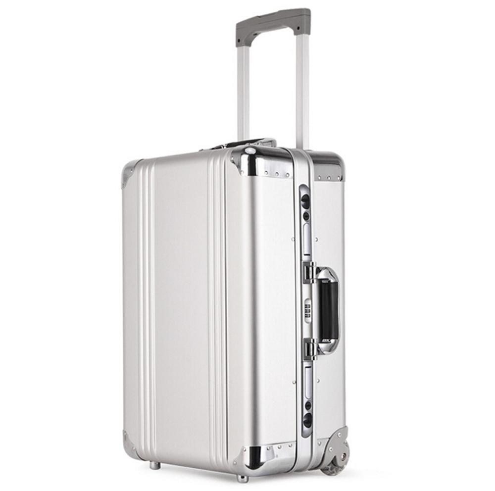 アルミスーツケース トランク キャリーバッグ 金属製スーツケース