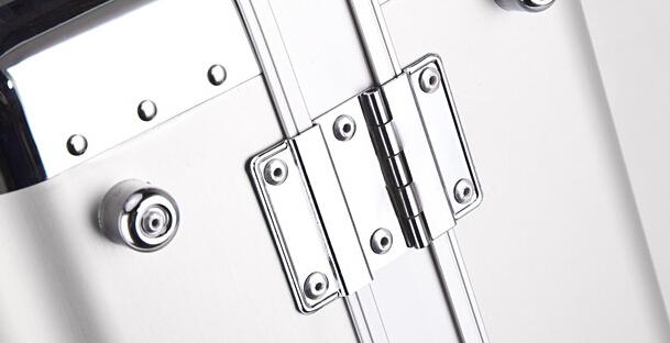 アルミスーツケース トランク キャリーバッグ 金属製スーツケース_画像6