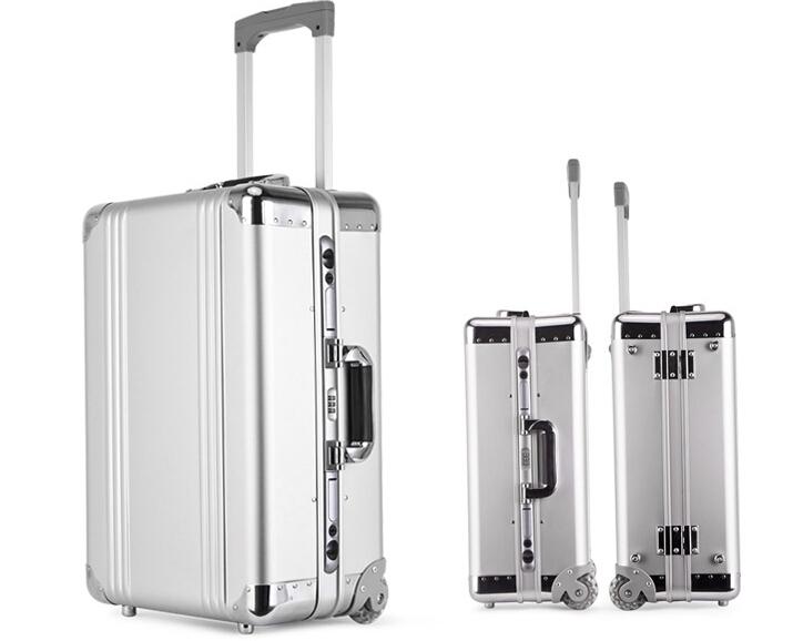 アルミスーツケース トランク キャリーバッグ 金属製スーツケース_画像3