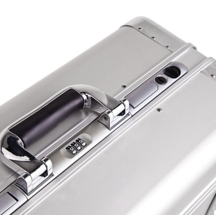 アルミスーツケース トランク キャリーバッグ 金属製スーツケース_画像5
