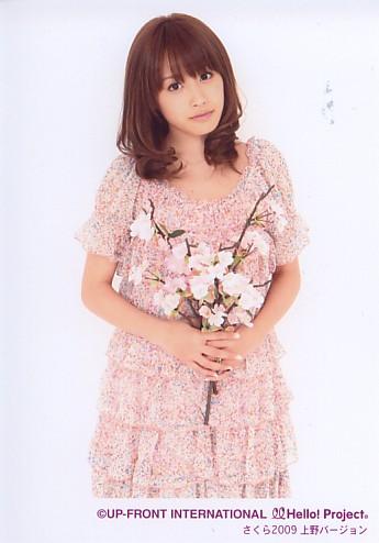 高橋愛 販売終了生写真 「さくら2009 上野バージョン」
