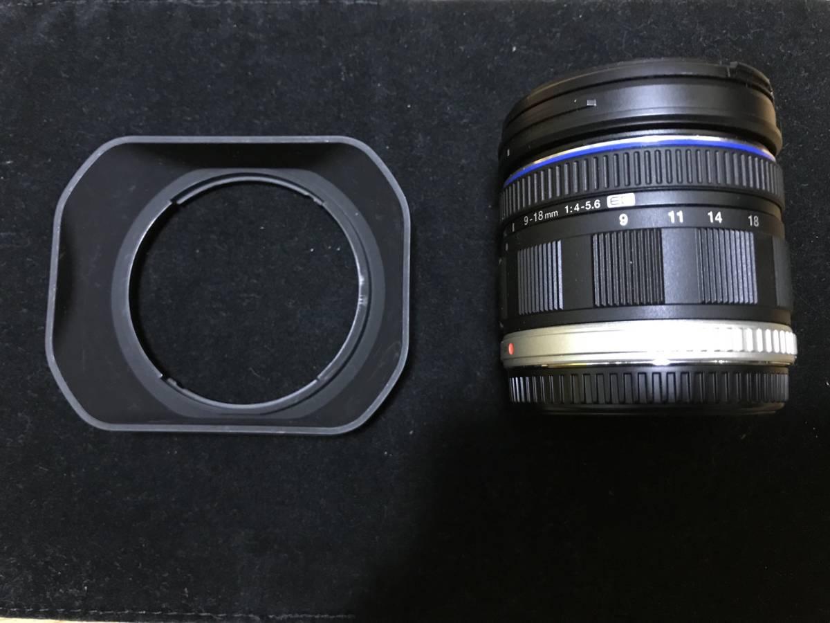 オリンパス M.ZUIKO DIGITAL ED 9-18mm f4.0-5.6美品
