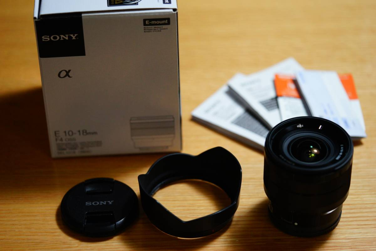 中古美品★ソニー Sony E 10-18mm F4 OSS SEL1018