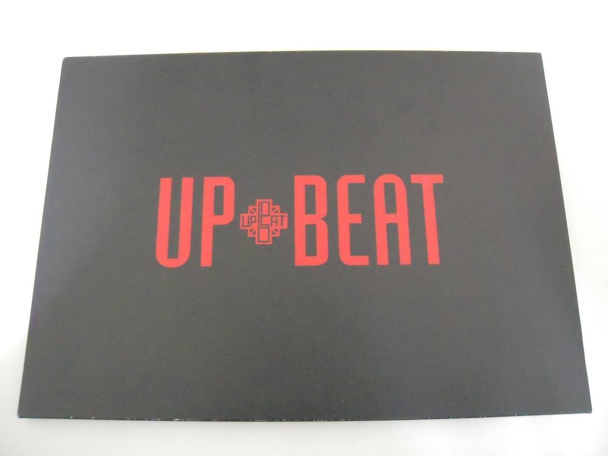★UP-BEAT アップ・ビート★ TOURS OF UNDER THE SUN 1989-1990 パンフレット