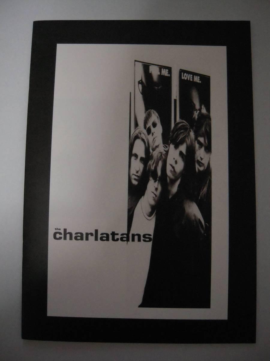 ★ The Charlatans シャーラタンズ 1992年 来日公演ツアーパンフレット ★