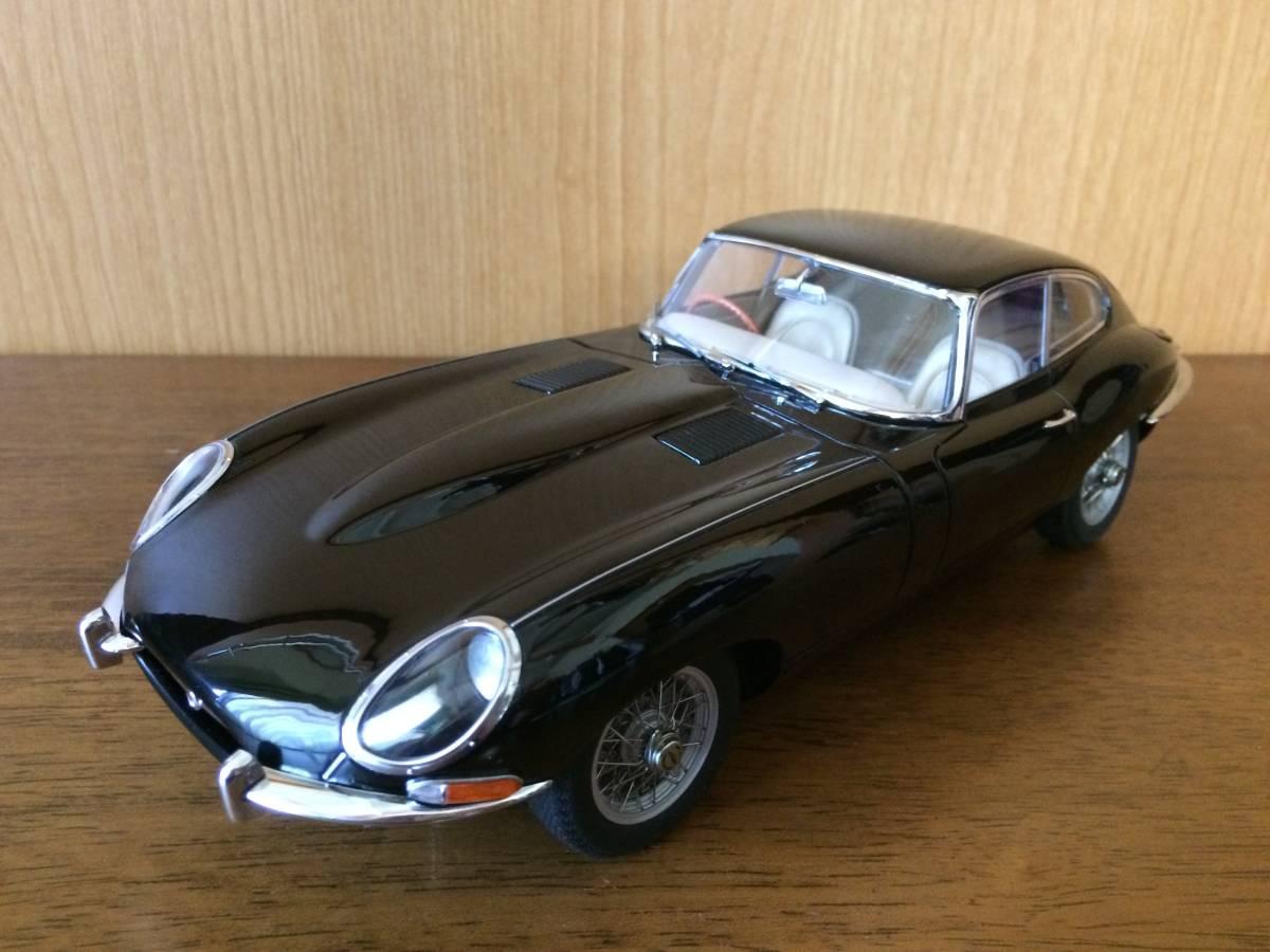 1/18 ジャガー Eタイプ シリーズⅠ 3.8 クーペ ブラック Jaguar E-type series1 3.8 coupe オートアート AUTOart
