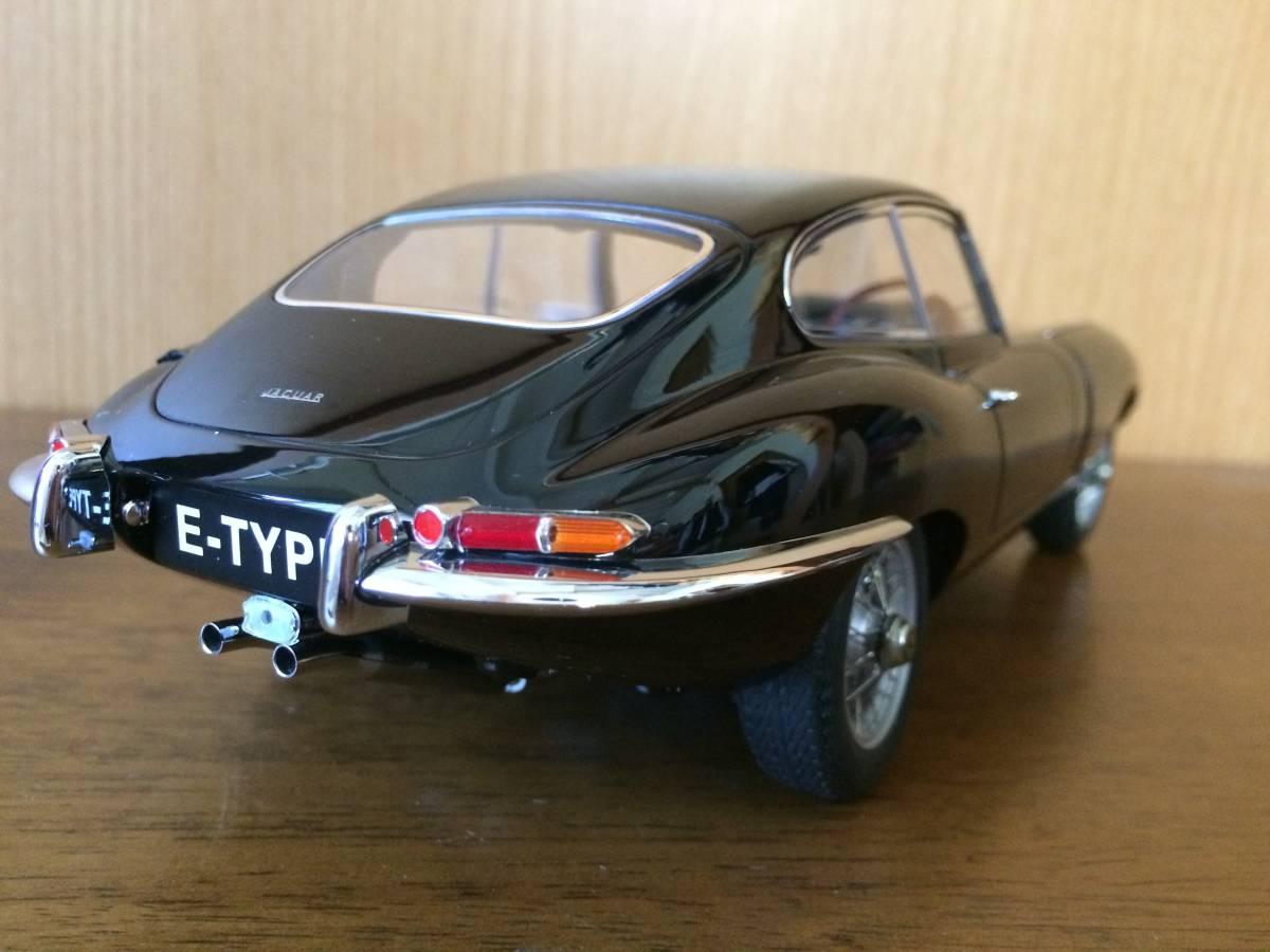 1/18 ジャガー Eタイプ シリーズⅠ 3.8 クーペ ブラック Jaguar E-type series1 3.8 coupe オートアート AUTOart_画像2