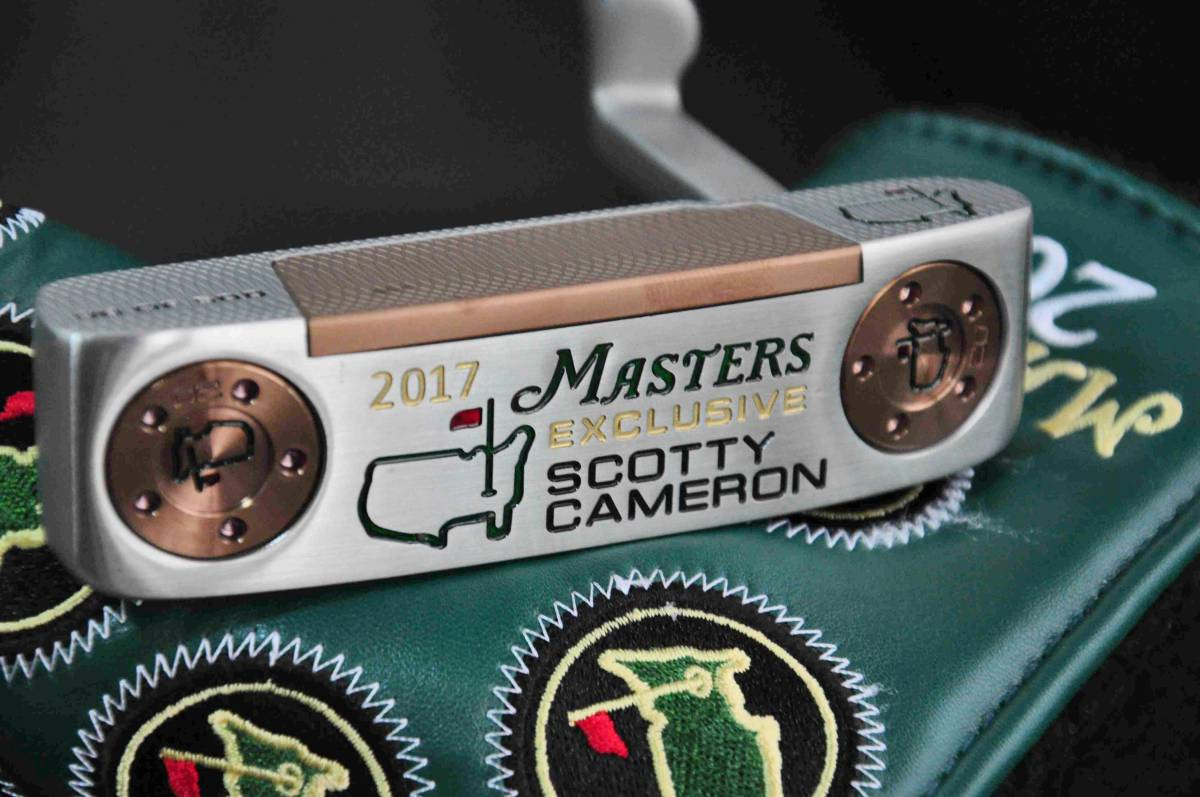 Scotty Cameron 2017 Masters Exclusive マスターズ記念モデル Newport スコッティキャメ