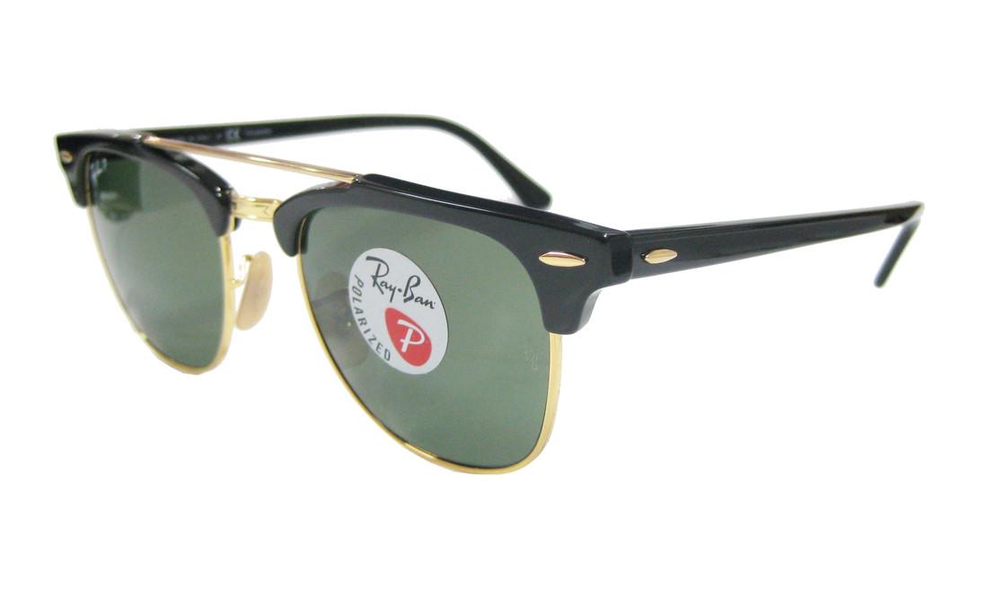 baa1ead8f01 ... top quality rayban rayban clubmaster doublebridge clubmaster double  bridge classic polarized light sunglasses rb3816 90158 51