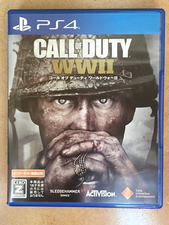 【ほぼ新品】【送料無料】PS4 コール オブ デューティ ワールドウォーII Call of Duty WW2 【早期購入特典付き】