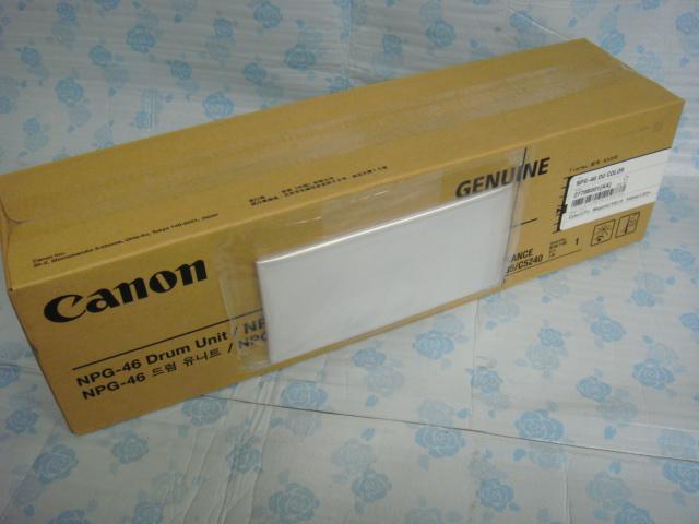 キヤノン 純正 NPG-46 ドラム カラー シアン イエロー マゼンタ  新品 即決 iR C5030/C5035/C5235/C5240