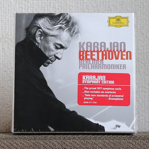 欧州製/CD/6枚組/カラヤン/ベートーヴェン/交響曲全集/1970年代/ベルリン・フィル/Karajan/Beethoven/Symphonies/DG_画像1