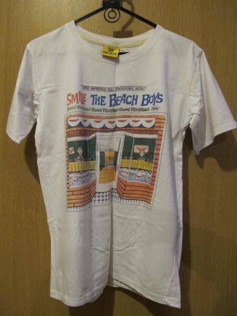 【古着/ユーズド衣類】ロックTシャツ ビーチボーイズ スマイル ブライアン・ウィルソン beach boys