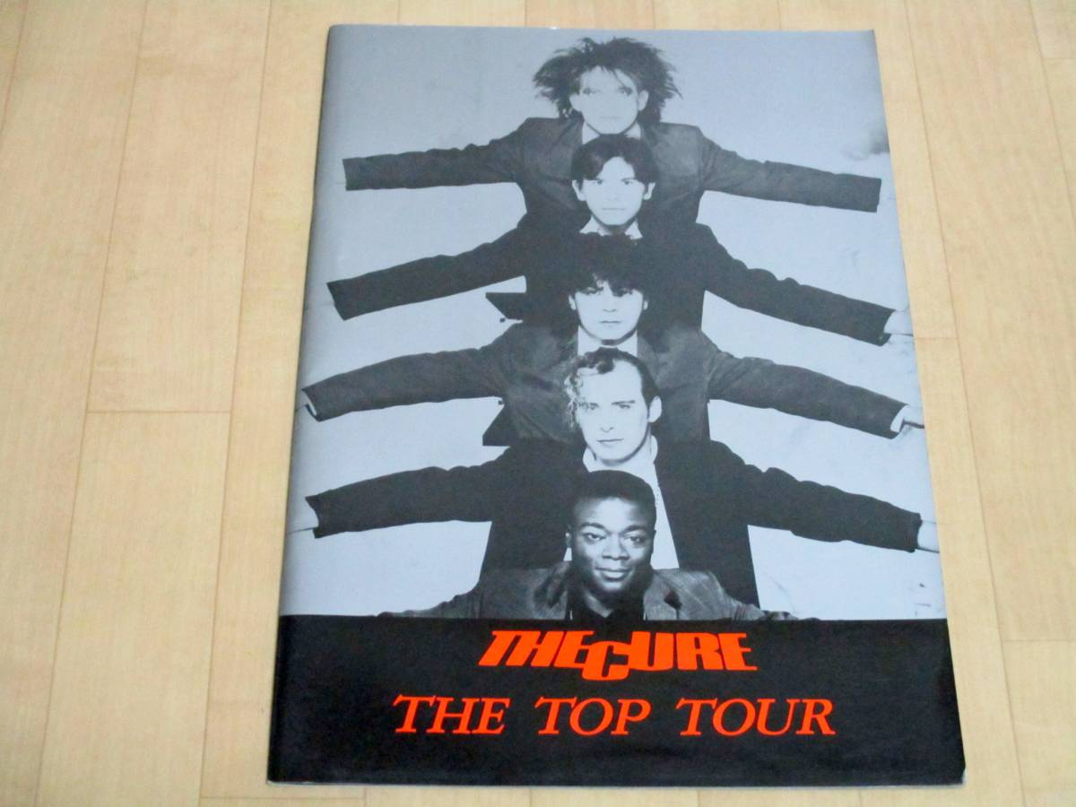 THE CURE キュアー ツアーパンフ 1984 ポスター付 美品 グッズ