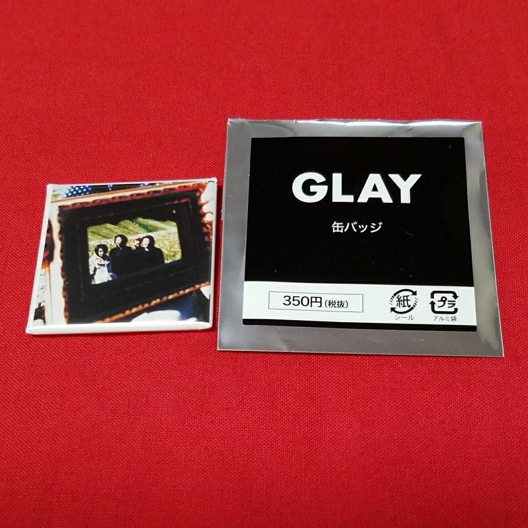 GLAY Loppi HMV 限定 缶バッジ BELOVED 新品 ③