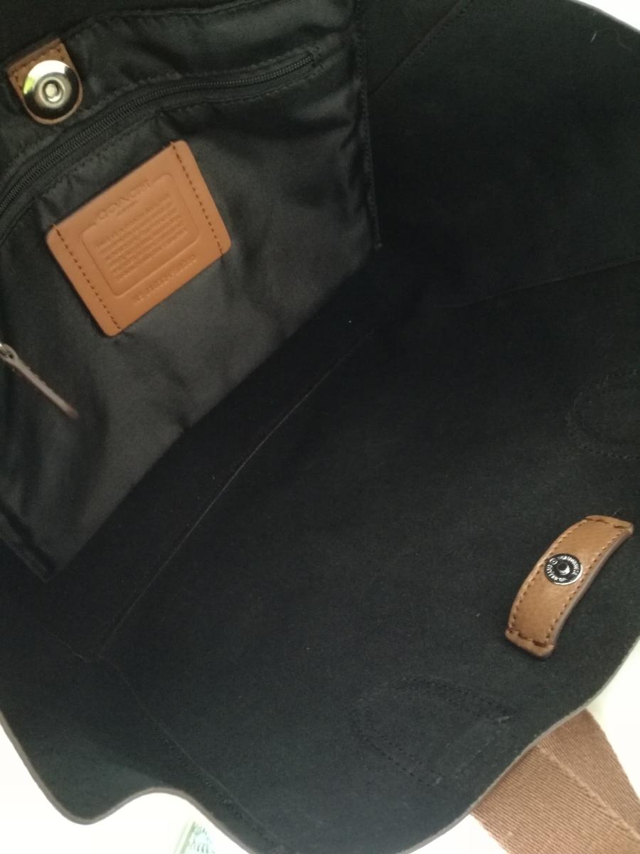 オススメ!COACH未使用ブラウンレザートートバッグ 使いやすさ◎軽量【売り切り】_画像2