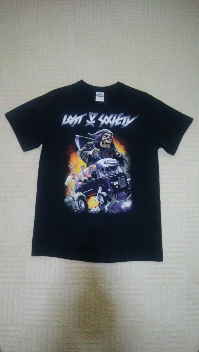 ロックTシャツ LOST SOCIETY Tシャツ