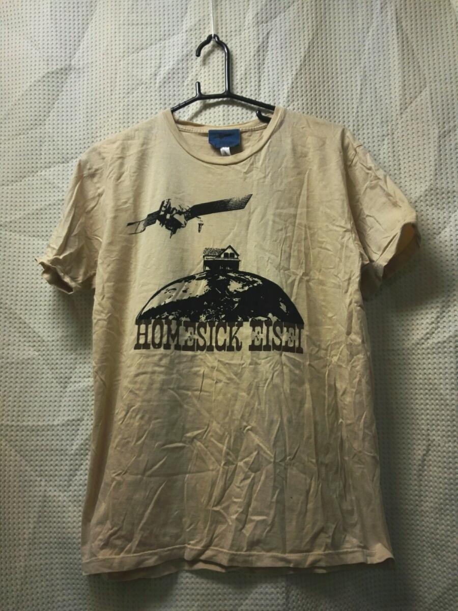 011 バンドTシャツ バンプオブチキン BUMP OF CHICKEN 2008ツアー ホームシップエイセイ ベージュ