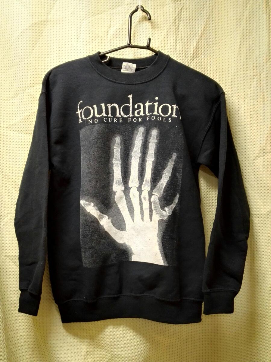 011 バンドTシャツ 関連 ファウンデーション ファンデーション アトランタハードコア スウェット ユースL