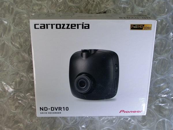 Pioneer パイオニア カロッツェリア ドライブレコーダ ND-DVR10 新品未使用 送料込み