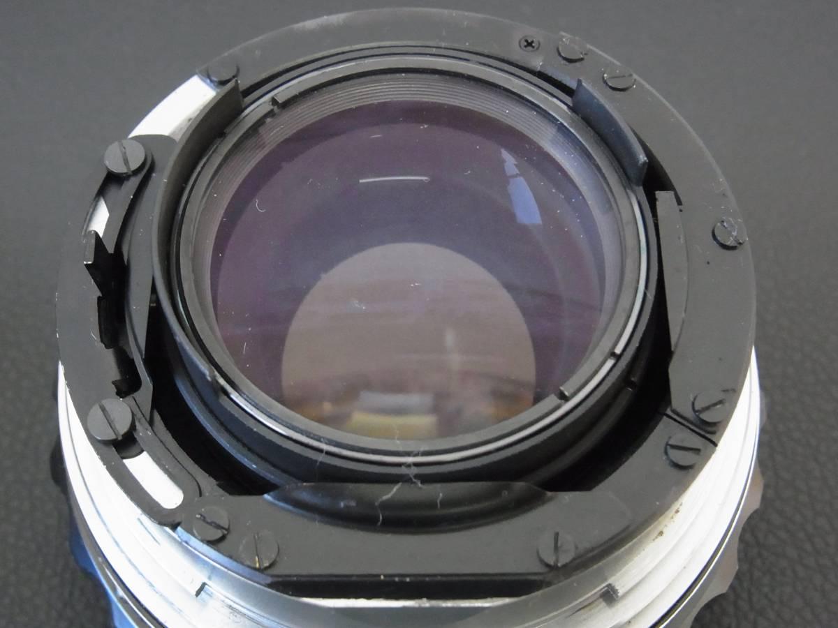 ◆◆ZENZA BRONICA◆ゼンザ ブロニカ◆レンズZENZANON 1:2.8 f=100mm一眼レフカメラ中古保管品_画像6