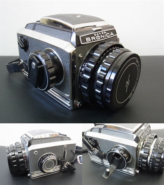 ◆◆ZENZA BRONICA◆ゼンザ ブロニカ◆レンズZENZANON 1:2.8 f=100mm一眼レフカメラ中古保管品_画像2