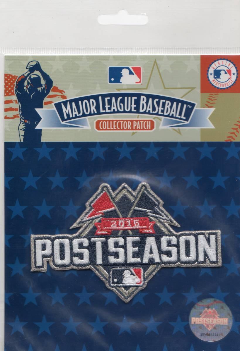 MLB ワッペン POST SEASON ポストシーズン 2015 パッチ ロイヤルズ メッツ ブルージェイズ カ グッズの画像