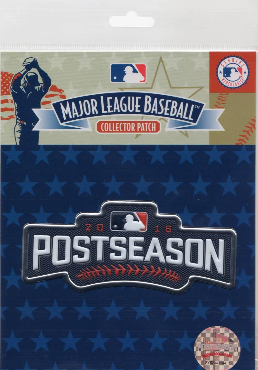MLB ワッペン POST SEASON ポストシーズン 2016 パッチ カブス インディアンス ドジャース ブルージェイズ グッズの画像