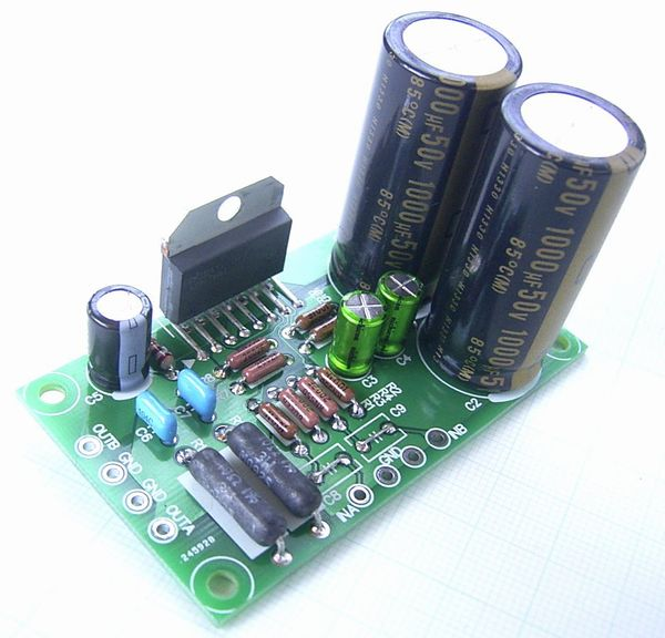 LM4766T stereo power amplifier kit : Real Yahoo auction salling