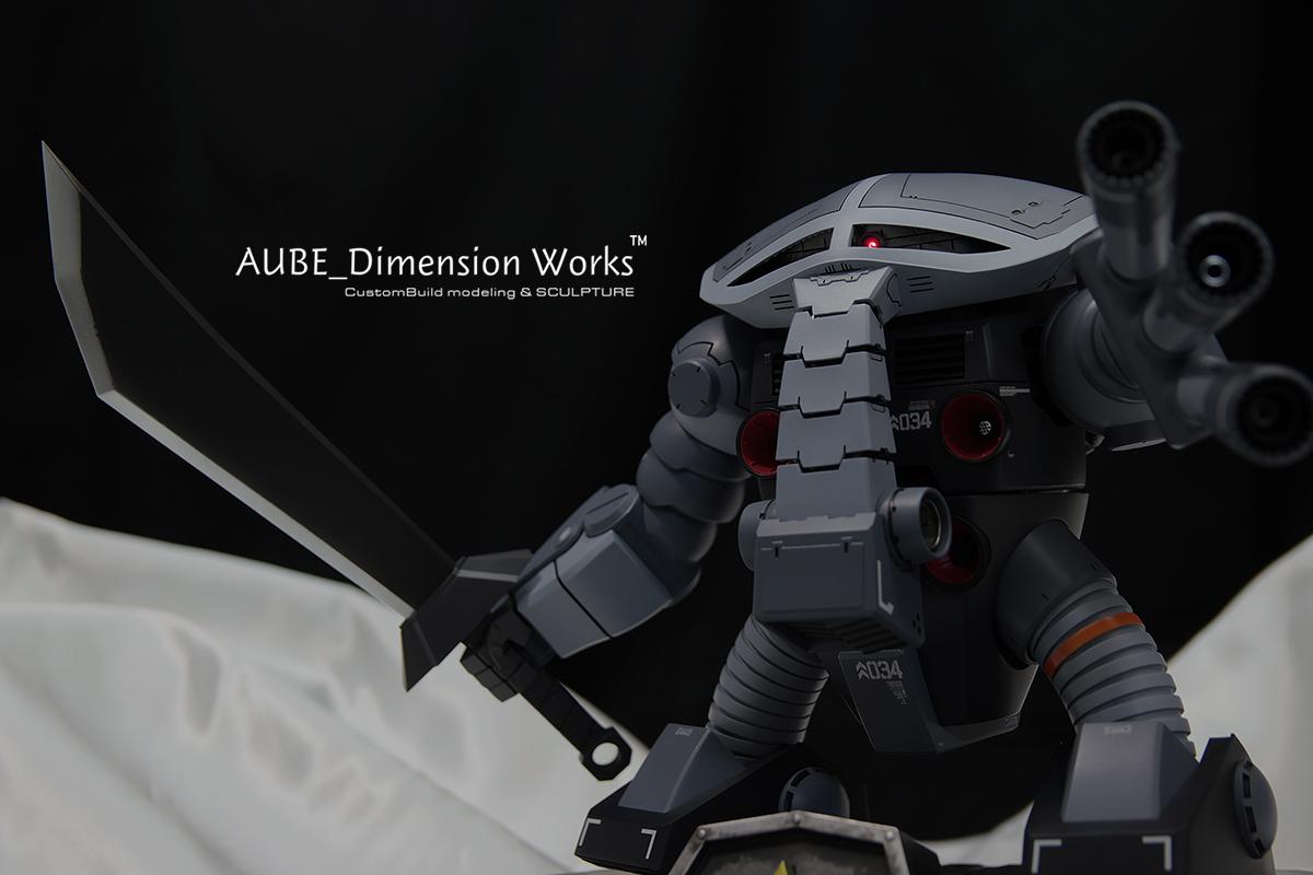 1/100 ジュアッグ 塗装済み完成品 AUBE_Dimension WORKS C3 AFA TOKYO