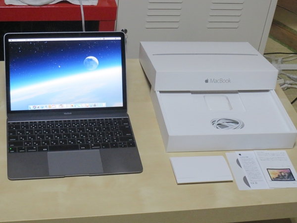 MacBook 12インチ MJY42J/A CoreM(1.2GHz) 8GB 512GB スペースグレイ macOS Win10 Pro Boot Camp Win10 OS Office 2016 Pro 美品・送料込み