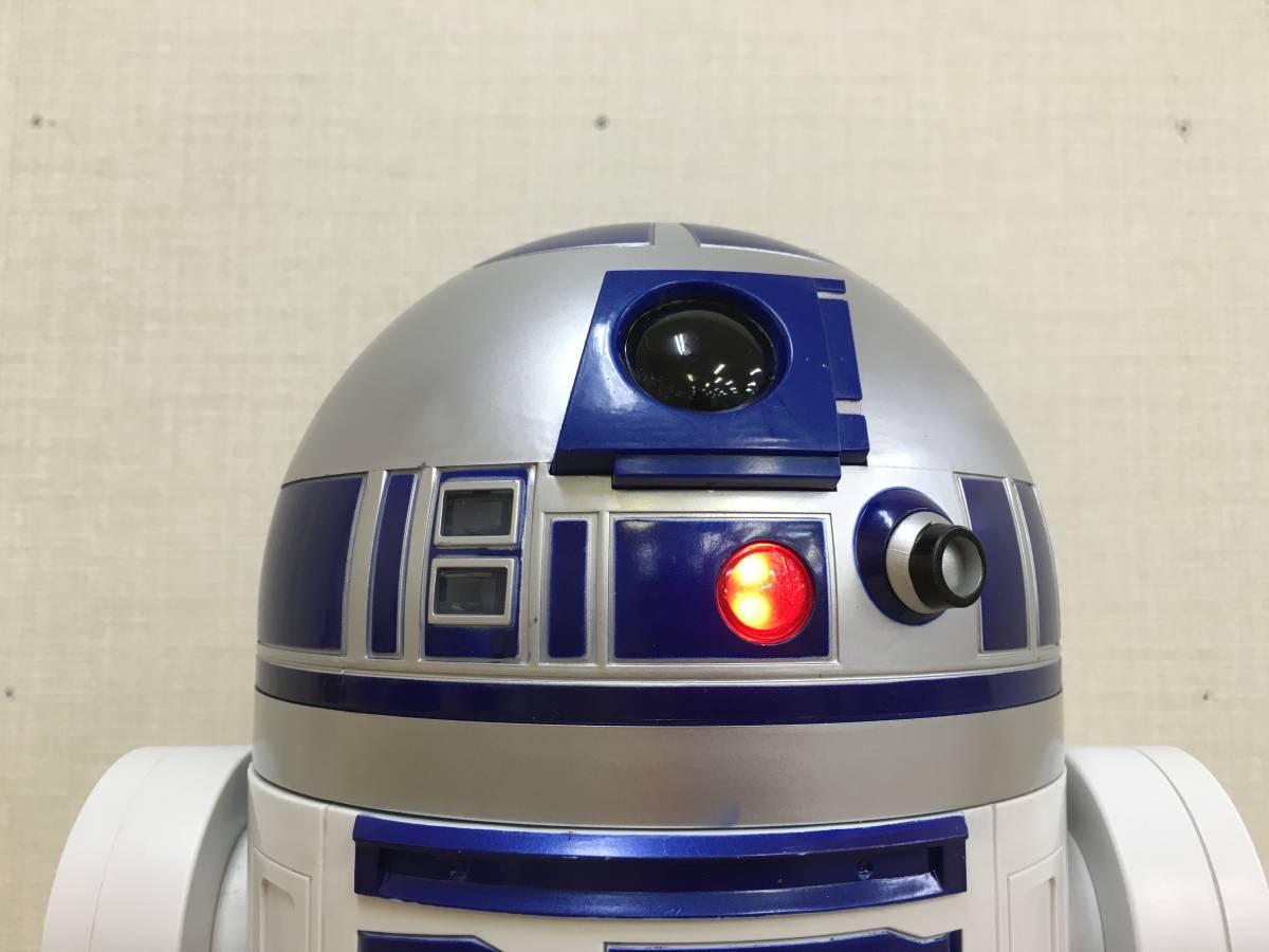 01-E322M【STARWARS/スターウォーズ】 R2-D2 45cmビッグフィギュア STARWARS DELUXE R2-D2 18inch Figure_画像7
