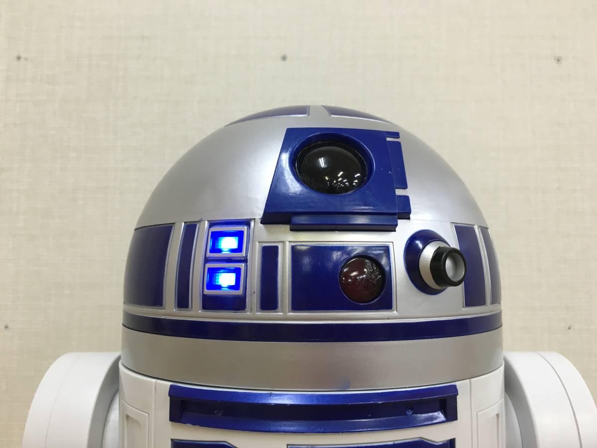 01-E322M【STARWARS/スターウォーズ】 R2-D2 45cmビッグフィギュア STARWARS DELUXE R2-D2 18inch Figure_画像6